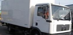 Развозные грузовики